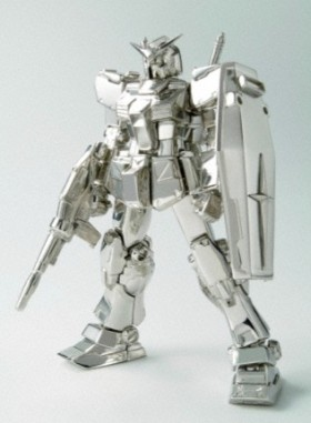 Gundam de Platino y Diamante