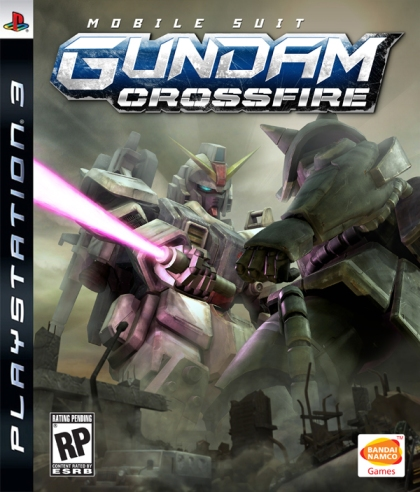 Mobile Suit Gundam Crossfire pack front